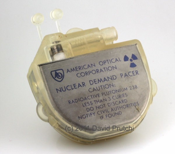 American Optical Nuclear Pacemaker