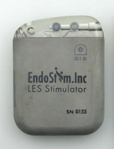 EndoStim IPG for treatment of GERD