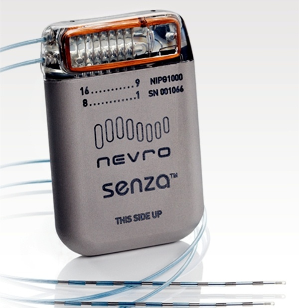 Nevro Senza Implantable Spinal Cord Stimulator for Back and Leg Pain