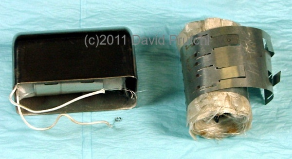 Thermopile assembly of the Arco Medical Nuclear pacemaker