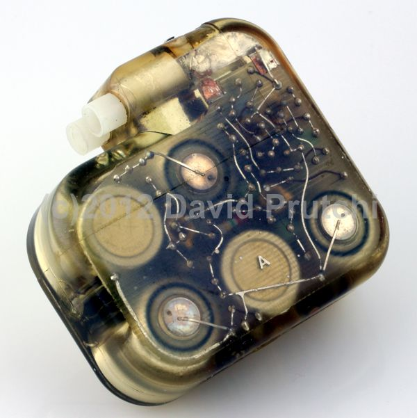 Back view of American Optical Cardio Care Demand Pacemaker