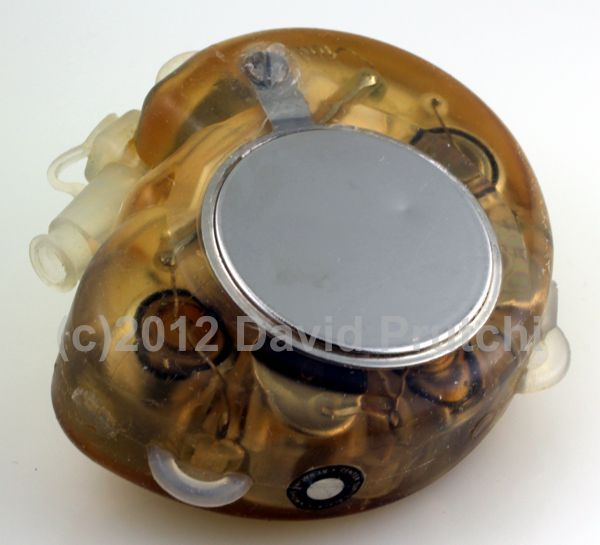 Back view of American Optical Cardio Care II Demand Pacemaker