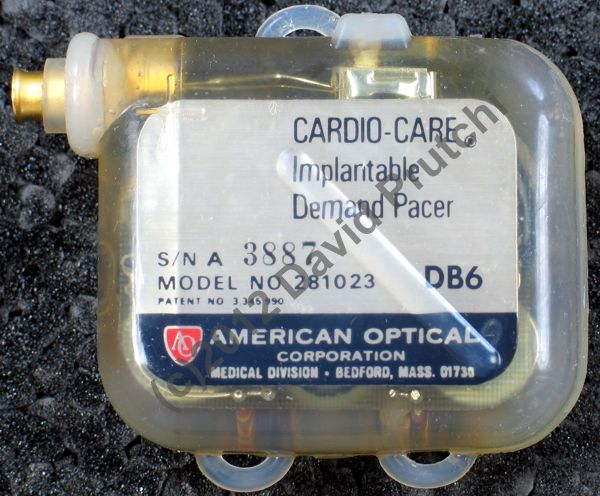 American Optical Cardio Care Implantable Pacemaker