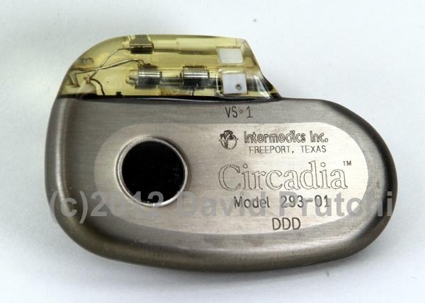 Intermedics Circadia central-venous-temperature-sensing rate-responsive pacemaker