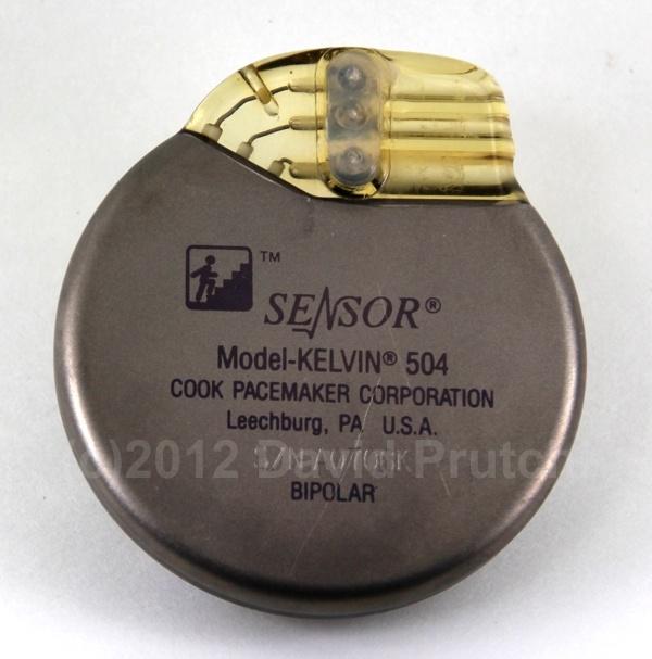 Cook Pacemakers Sensor Kelvin Model 504 central-venous-temperature-sensing rate-responsive pacemaker