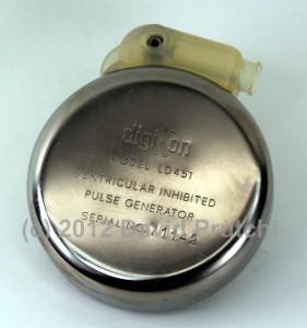 Digikon model LD451 Ventricular Inhibited Pulse Generator