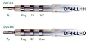 DF-4 Connector for implantable cardioverter defibrillators