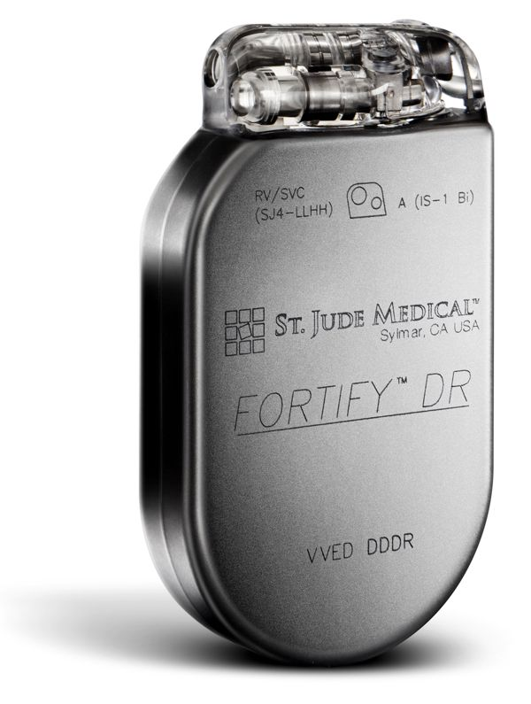 St Jude Medical Fortify ICD with DF-4 connector