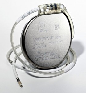 Boston Scientific Incepta ICD with DF-4 connector