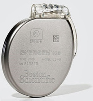 Boston Scientific ICD with extended longevity. David Prutchi PhD www.implantable-device.com