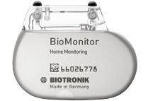 Biotronik BioMonitor to diagnose arrhythmias.  David Prutchi PhD www.implantable-device.com
