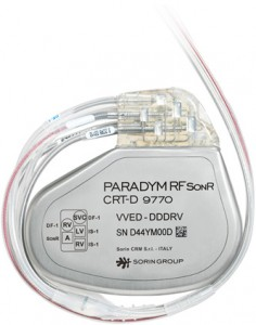 Sorin Paradym CRT-D David Prutchi PhD www.implantable-device.com