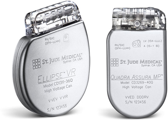 St Jude Medical Assura Ellipse ICD CRT-D www.implantable-device.com David Prutchi PhD