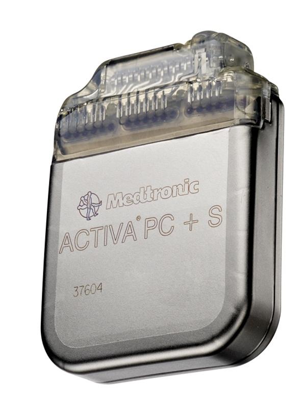 Activa PC+S deep brain stimulator with sensing and recording of brain activity David Prutchi PhD www.implantable-device.com