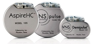 Cyberonics VNS IPGs www.implantable-device.com David Prutchi PhD