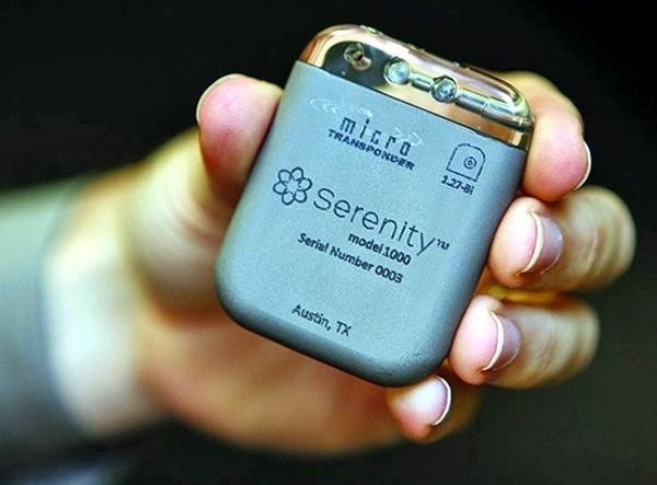 MicroTransponder Serenity IPG for treatment of Tinnitus David Prutchi PhD www.implantable-device.com