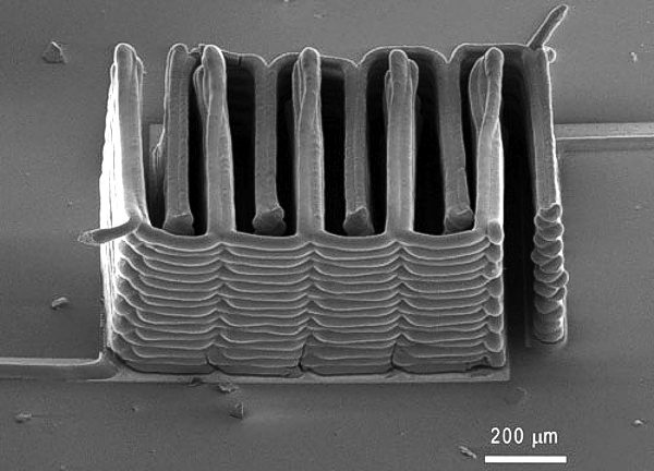 MIT 3D Printed Microbattery www.implantable-device.com David Prutchi PhD