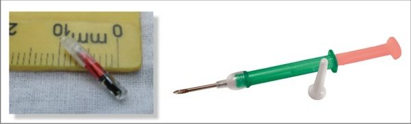 BioThermo implantable temperature sensor RFID tag