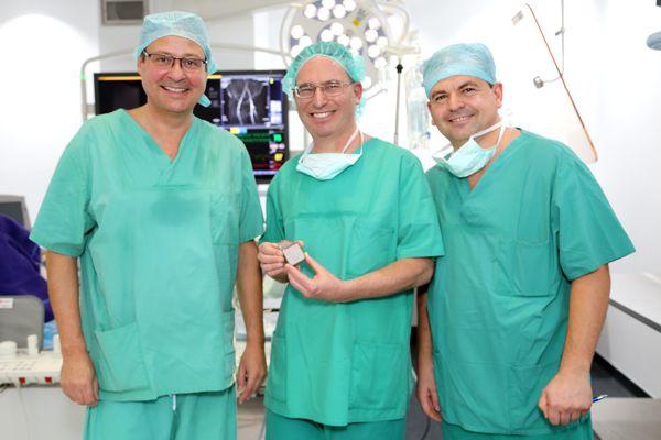 Dr. Markus Reinartz at the Herz-Jesu Hospital in Dernbach, Germany.