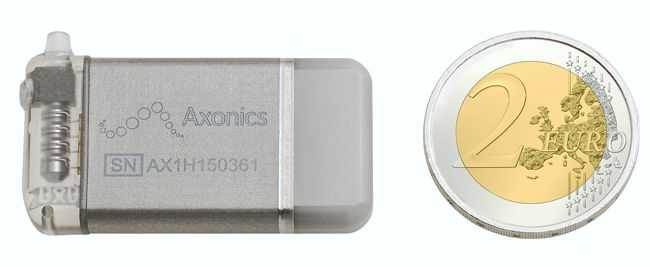 Axonics' r-SNM Implantable Neurostimulator for Urinary and Bowel Dysfunction